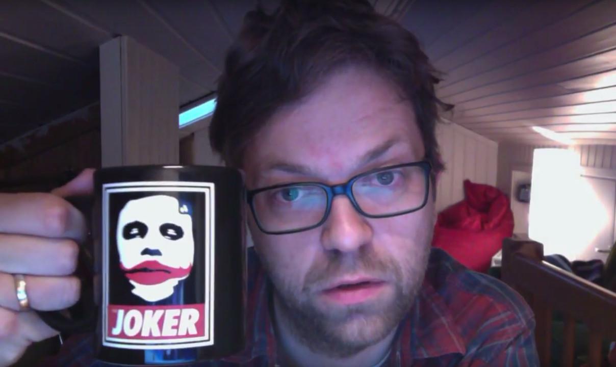 Einar Duenger Bøhn (foto fra hans kanal på Youtube)
