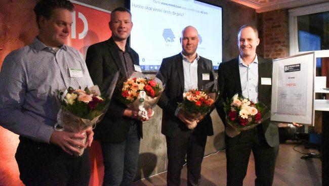 Vinner av BI-prisen - DNV GL