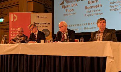 Panel med debattanter