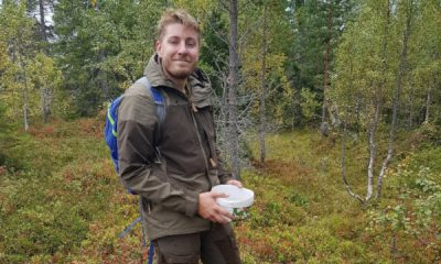 Eirik Kristiansen i skogen