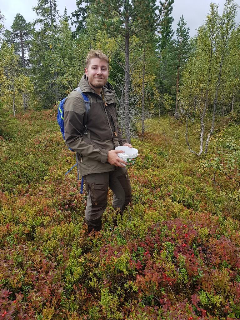 Eirik Kristiansen på jakt
