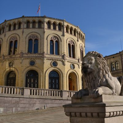 Foto av Stortinget: Colourbox.com