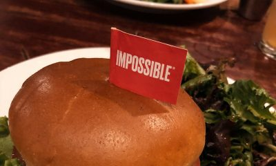 "Burger med ""impossible""-flagg"