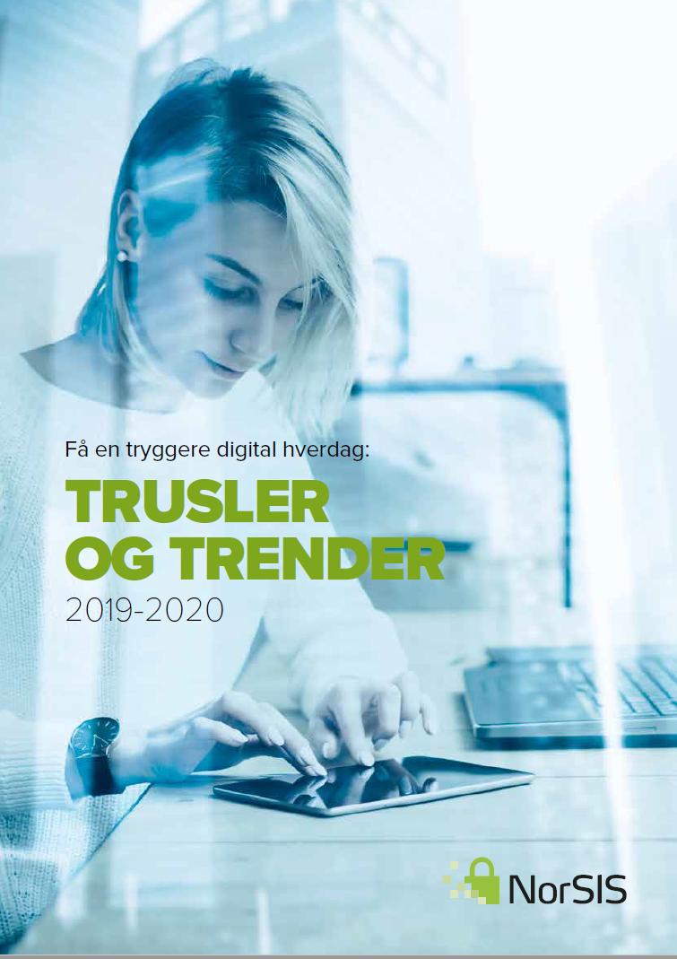 Forside av rapporten Trusler og trender 2019-2020.