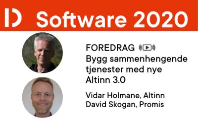 Vidar Holmane og David Skogan på SW2020