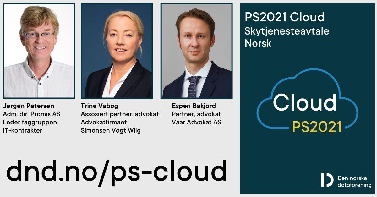 Skytjenesteavtale PS2021 Cloud - lanseringswebinar